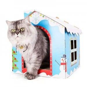 Tin Plate Coil Simple Cardboard Cat Sratcher - 2019 China New Design China Plush Soft Bed House for Pet Dog Cat (FM-PS179) – Loyi