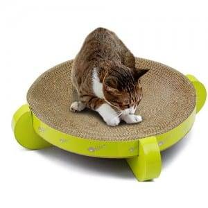 Bare Aluminum Steel Sheet Cat Cardboard Simple Sweet Scratching Pad - Made in China Factory Customized Cat Scratcher Cardboard Games – Loyi