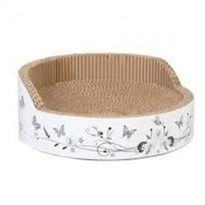 Matt Color Coated Steel High Quality Cat Scratcher Lounge - Cat Scratcher Shaped Cardboard Toys9Z07DFC4 – Loyi