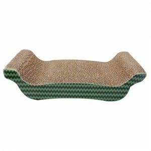 Gl Steel Strip Triangle Cat Scratcher - Hotsale Rectangular Cat Scratcher Cardboard Reversible Cat Scratcher Refill Lounge01 – Loyi