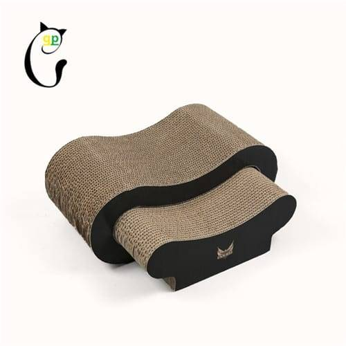 Corrugated Roofing Steel Large Corrugated Cardboard Cat Scratcher -  Cat Scratcher S7A5730 – Loyi Featured Image