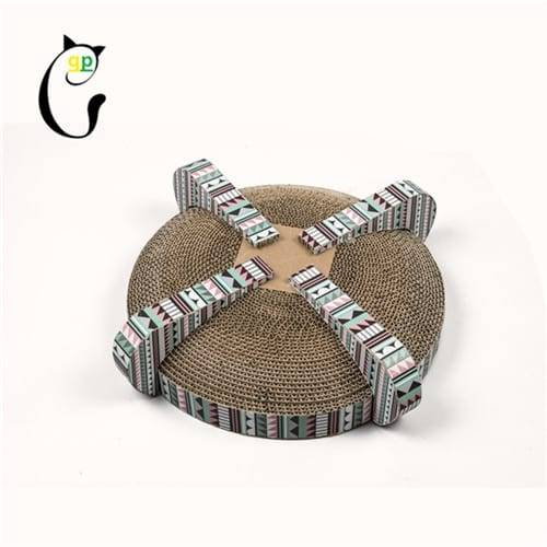 Corrugated Steel Sheet Soft Cardboard Cat Scratcher -  Cat Scratcher S7A6878 – Loyi