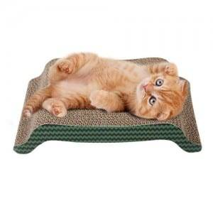 Hotsale Rectangular Cat Scratcher Cardboard Reversible Cat Scratcher Refill Lounge