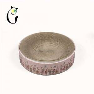 Corrugated Color Coated Steel Plate Round Corrugated Cardboard Cat Scratcher -  Cat Scratcher S7A5760 – Loyi