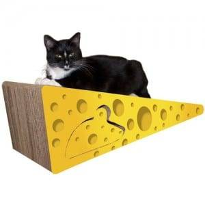 Alu-Zinc Roof Steel Cat Scratching House - 2 Piece Shaped Cat Scratcher Board Set01 – Loyi