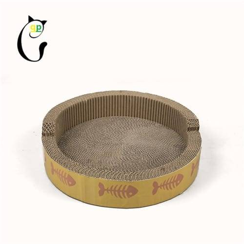 Pre_Painted Sheet Cat Cardboard -  Cat Scratcher S7A6892 – Loyi Featured Image
