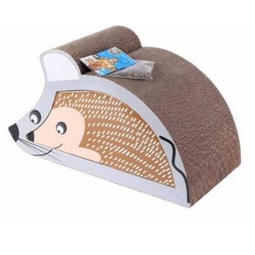 Roofing Plate Condo Cat House - Cat Toy Mouse Design Cat Scratcher Cardboard01 – Loyi