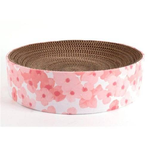 Pogranda Kato Produktoj Bed Kato Corrugated Scratcher Bed