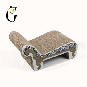 Gl Steel Roll Natural Paradise Cat Tree - ODM Manufacturer China Shenzhen Pet Supplier S Shaped Cat Bed Toy Cat Scratcher Lounge Board – Loyi