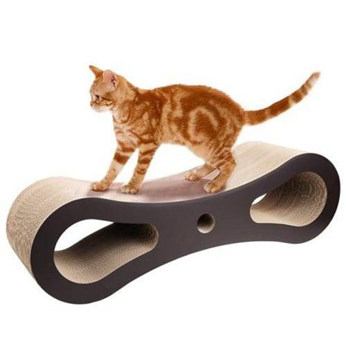 Corrugated Gl Condo Cat Tree Tower - Cat Scratcher Shaped Cardboard Toys000 – Loyi