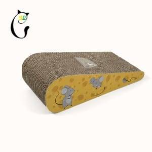 Tin Plate Cheap Cardboard Cat Sratcher - Cat Scratcher S7A5718 – Loyi