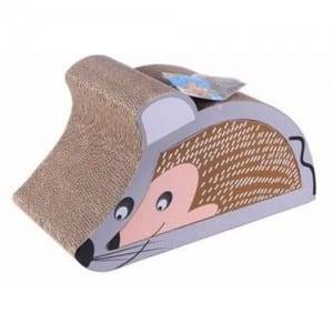 Corrugated Sheet Large Cat Scratcher - Cat Toy Mouse Design Cat Scratcher Cardboard03 – Loyi