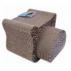 Galvanized Steel Plate Big Cat Scratcher - Cardboard Cat Scratcher Pet Toy Pet Bed – Loyi
