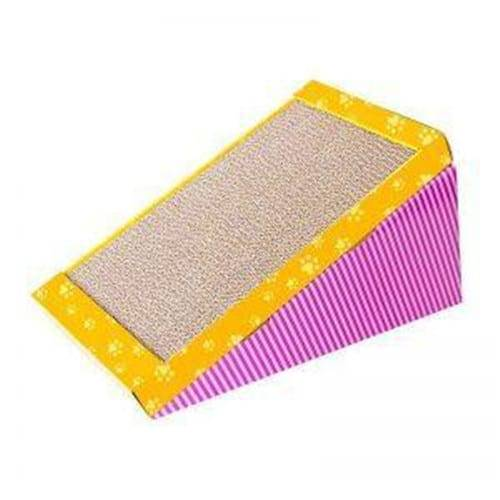 Corrugated Color Steel Cardboard Cat Toy - Factory Wholesale Premium Cat Scratcher Cardboard – Loyi