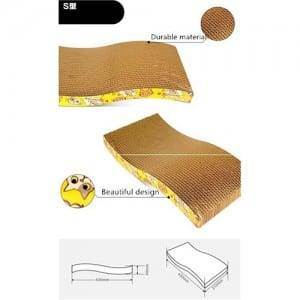 Cat Products Cat Scratching Board Pad Corrugated Scratcher Board00