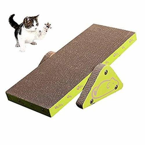 Pre_Painted Steel Roll Tall Scratching Post - Sourcing OEM Seesaw Corrugated Cardboard Incline Scratcher01 – Loyi