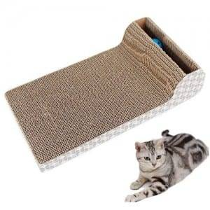 Corrugated Color Coated Steel Cat Scratch - Cat Scratch Pad Scratcher Scratching Posts Bo	 – Loyi