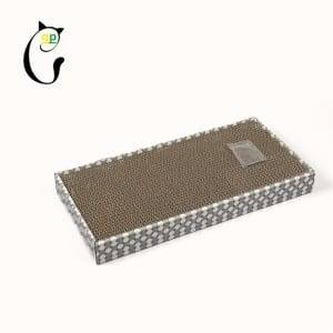 Corrugated Pre-Painted Steel Corrugated Cat House Cardboard Cat Scratcher - Cat Scratcher S7A5719 – Loyi