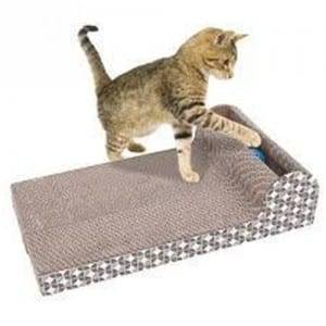 Matt Color Steel Reversible Cat Scratcher - Cat Scratch Pad Scratcher S00 – Loyi