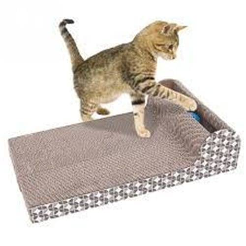 Aluzinc Sheet Cat Climbing Tree - Cat Scratch Pad Scratcher S00 – Loyi