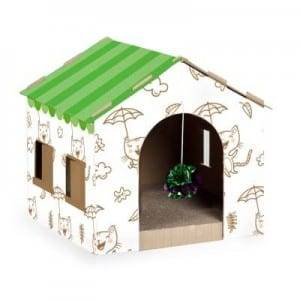 Cat Scratcher Cardboard Cat House