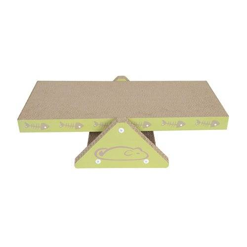 Pre-Painted Sheet Corrugated Scratching Pad - Seesaw Corrugated Cardboard Incline Scratcher03 – Loyi