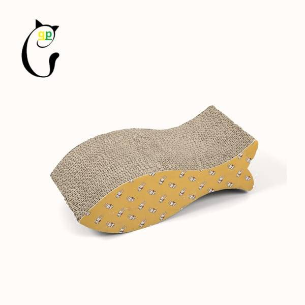 Color Coated Aluminum Coil Cat Scratchers Shaped Carboard - Cat Scratcher S7A5703 – Loyi