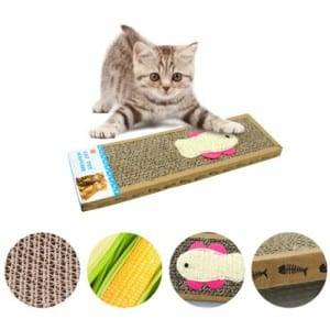 Galvanized Plate Cat Scratcher Tree - High Quality Scratch Pad Hot Selling Cat Toys Scratcher Cardboard05 – Loyi