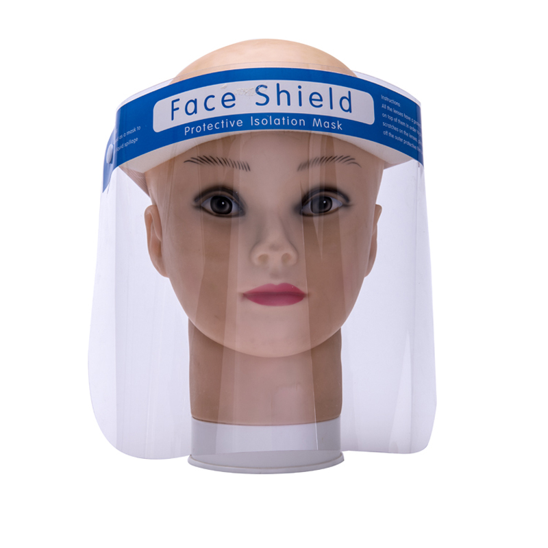 Safety Anti-fog Dental Visor Protection Face Shield with Frame