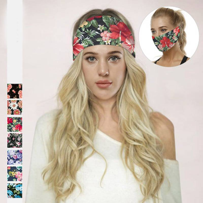 Multifunctional Fashion sports sweat-absorbent headband