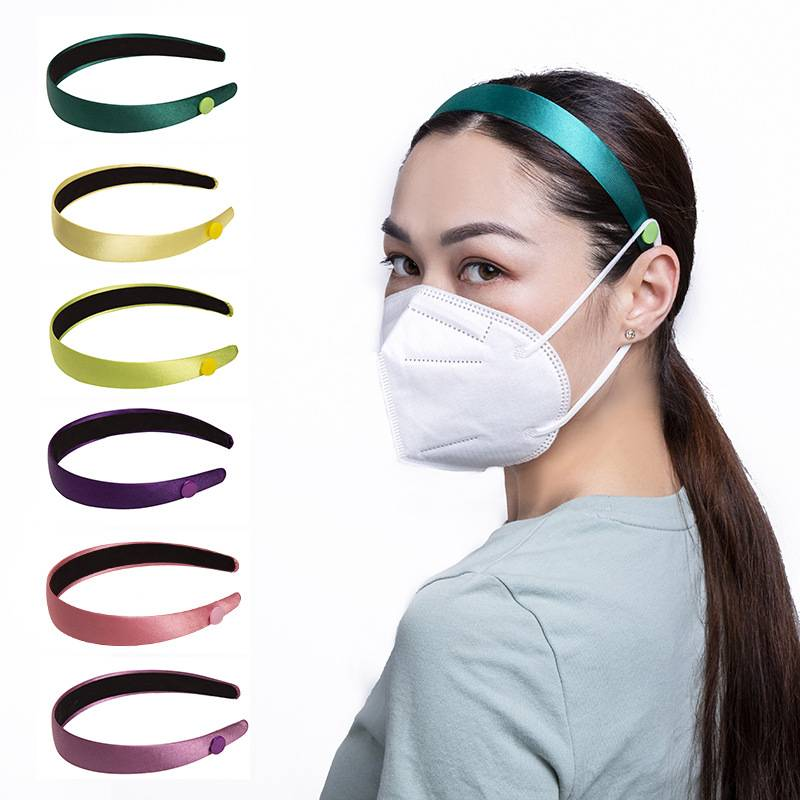 The new headband fixing mask button headband