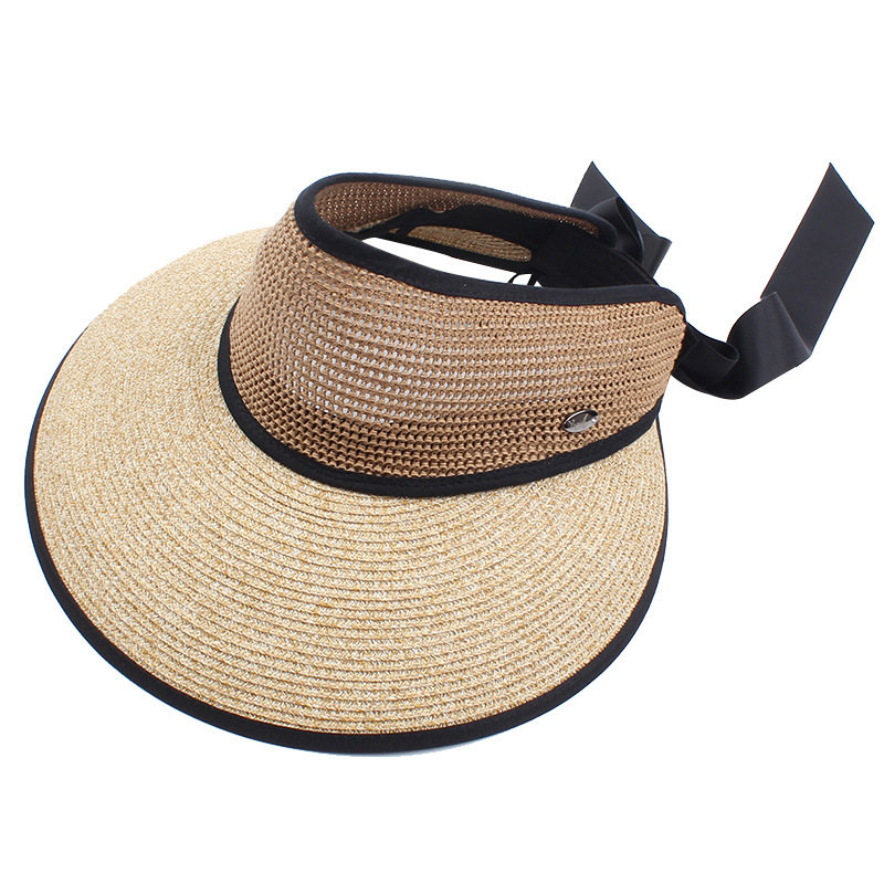 Bowknot Backside Big Brim Sun Hat
