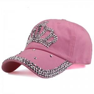 Diamond Crown Denim Cap