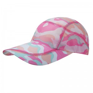 Fast Dry Camo Printing Sports Cap