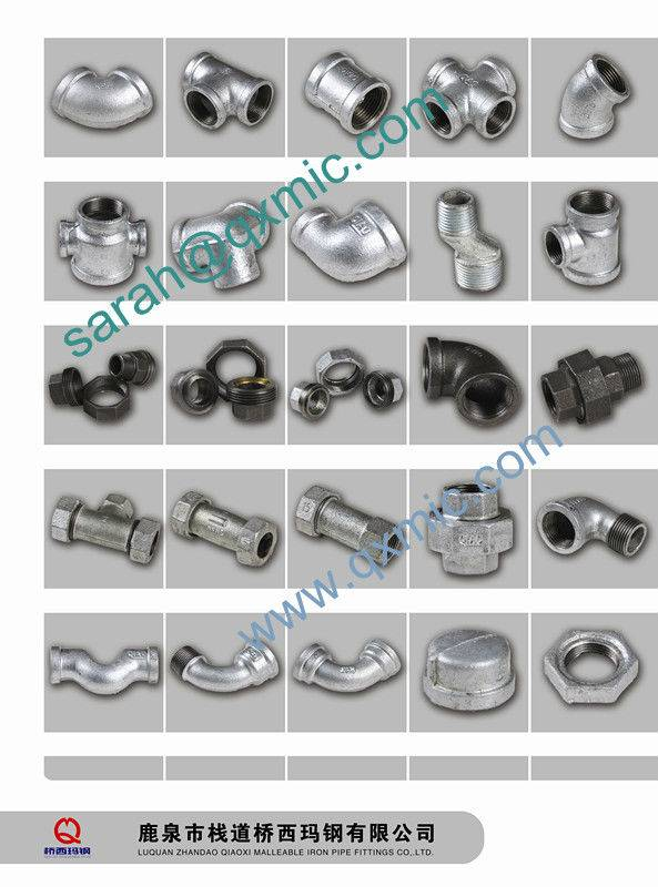 Galvanized & Black Mild Carbon Steel Pipe Fitting Coupling