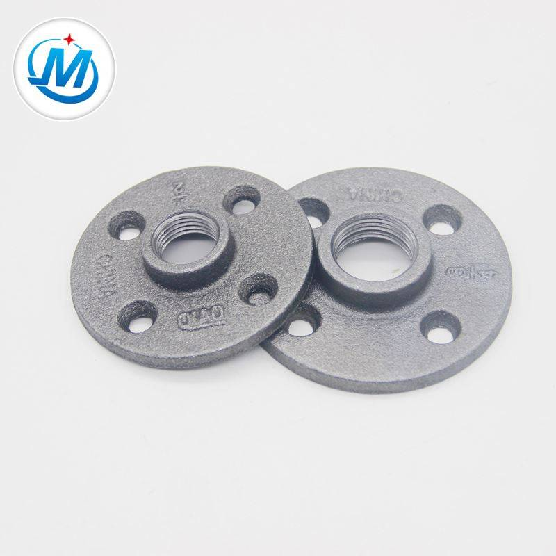 high pressure iron pipe fitting floor flange