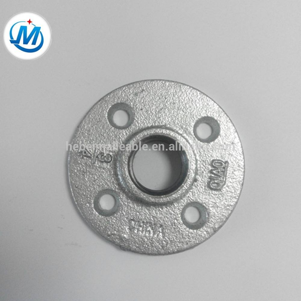 high quality cast iron pipe flanges,galvanized malleable iron pipe flanges