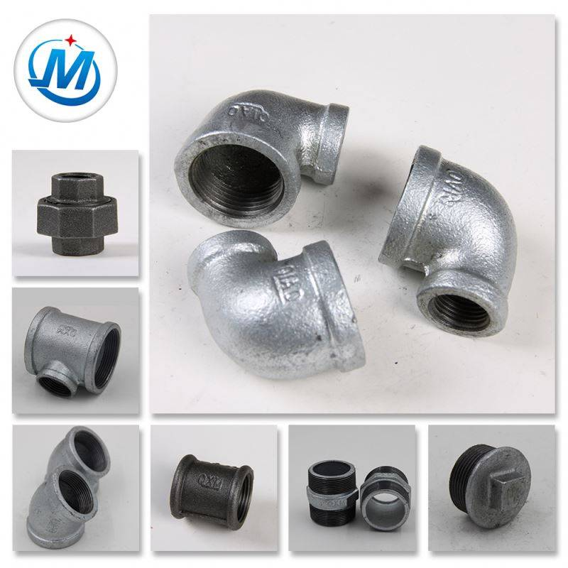 g.i galvanized malleable iron pipe cast iron fittings