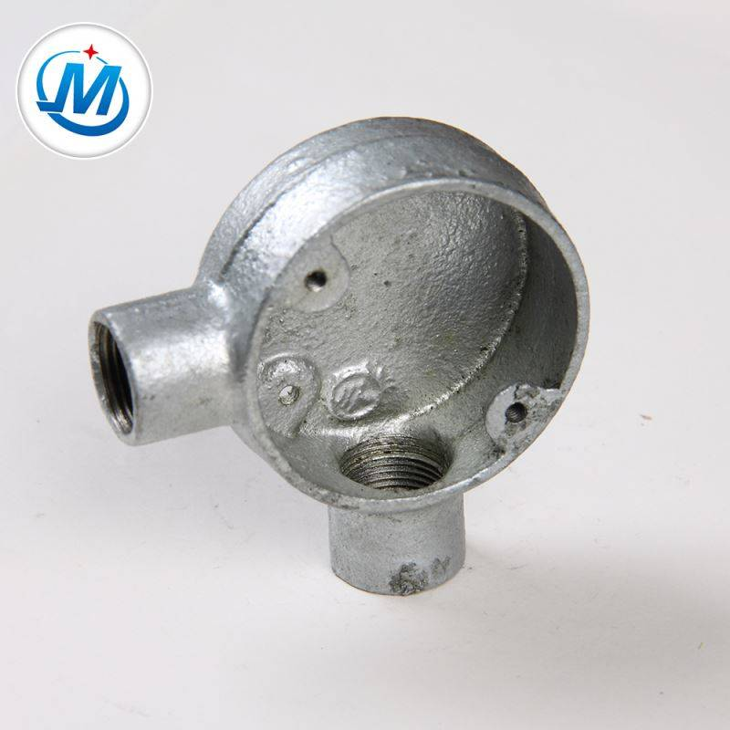 Lulus ISO 9001 Test For Oil Connect Multi Malleable Iron Junction Box