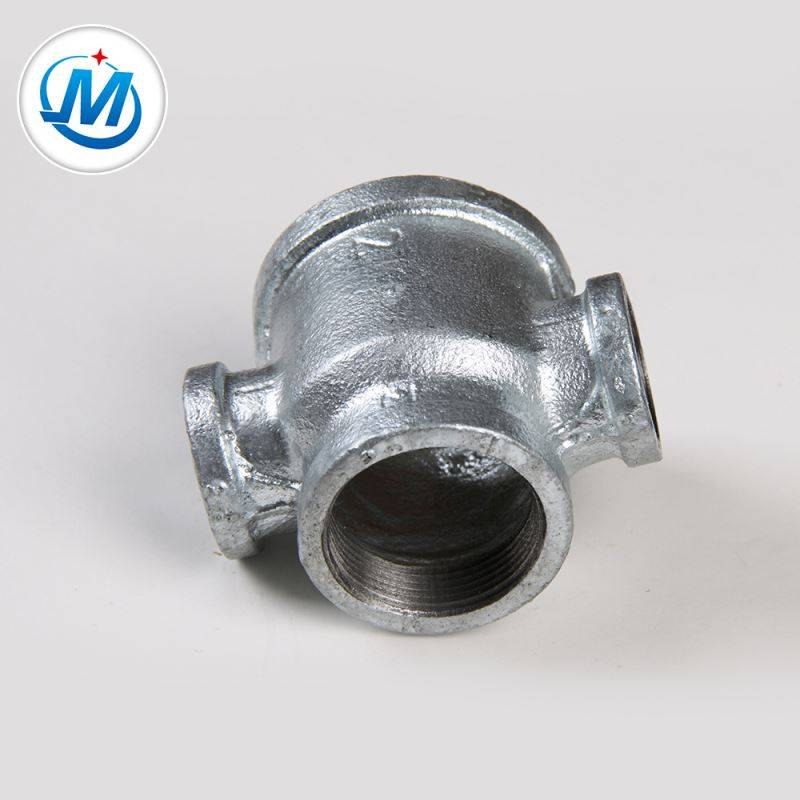 Ensuring Quality First 1.6mpa Working Pressure Pipe Reducing Cross Cast Fitting