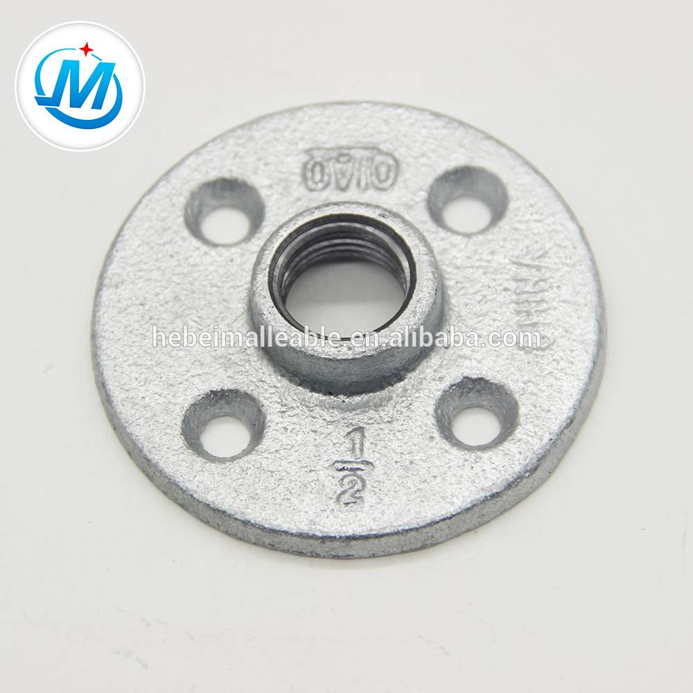 QIAO brand malleable cast iron pipe fitting flange