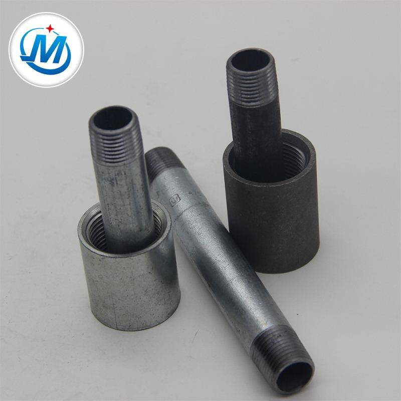 Best Price on Electro Galvanized Pipe Nipple - China Market British Standard Steel Pipe Nipple – Jinmai Casting