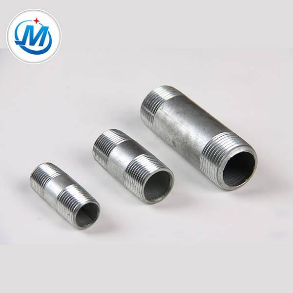 Quality tinggi Galvanized Jeung Hideung Surface Steel pipe pas