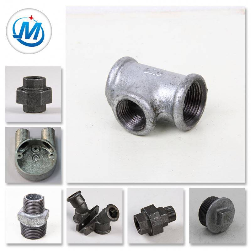 Building Plumbing Hot Dipped Galv Malleable Iron Pipe Fitting