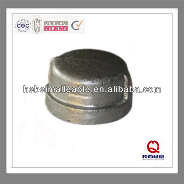 Wholesale Price China Galvanized Pipe Bends - galvanized casting malleable iron pipe fitting ball end screw cap – Jinmai Casting