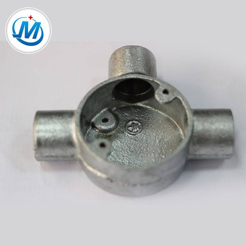 Professional Enterprise Water Supply Different Size Malleable Iron Metal Junction Box Featured Image
