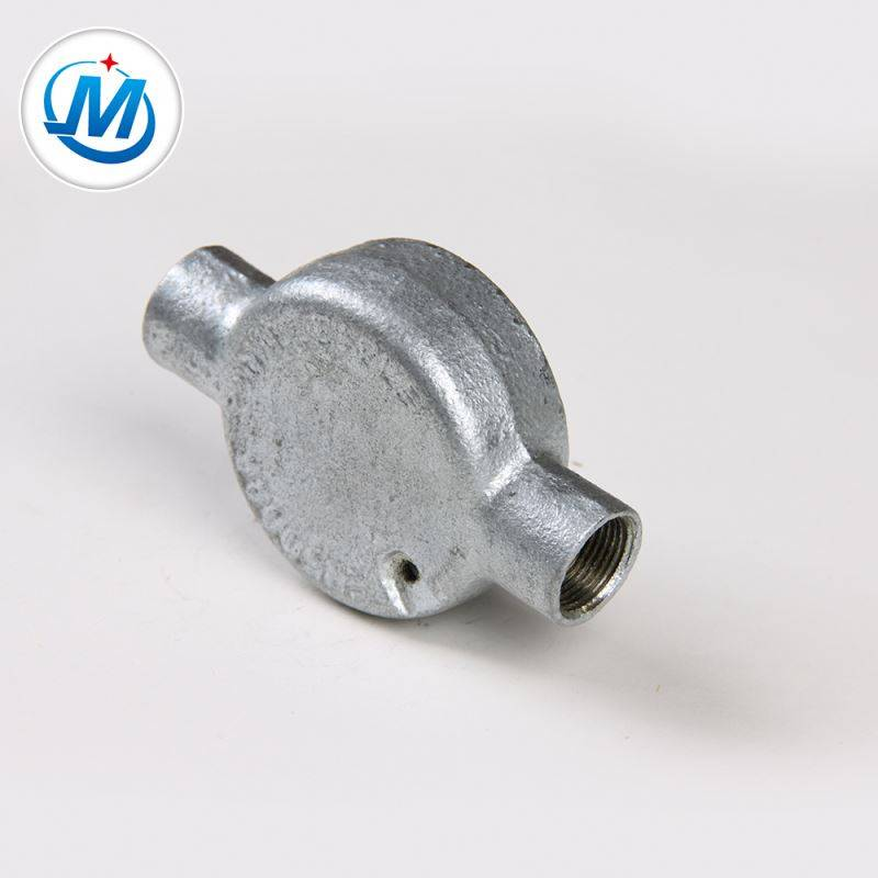 Passed ISO 9001 Test 1.6Mpa Working Pressure Malleable Iron Junction Box For Sale