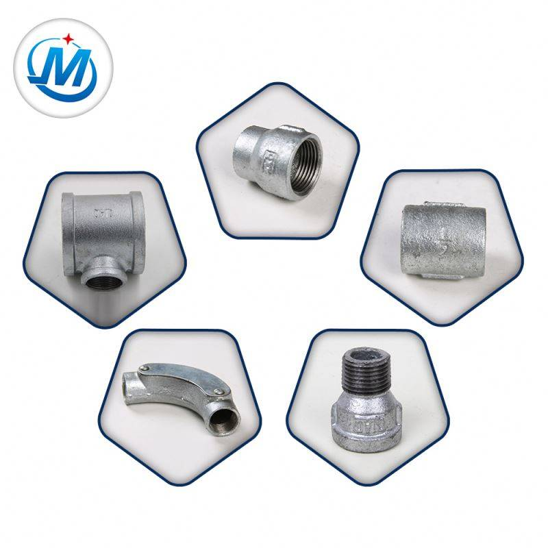 China Products Ensuring Quality First BS Standard Malleable Iron Water Supply Pipe Fittings