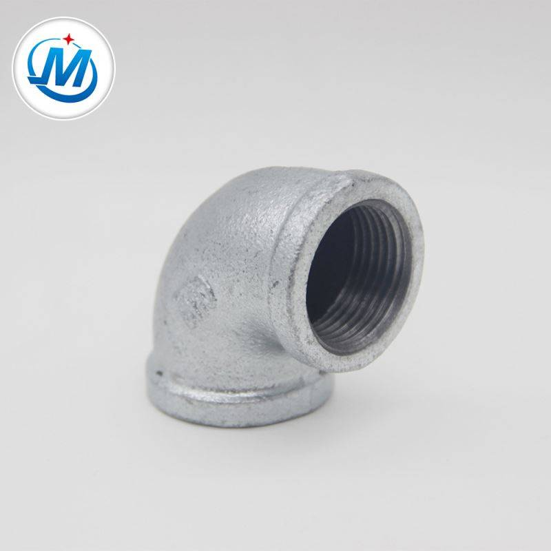malleable iron pipe fittings beaded elbow