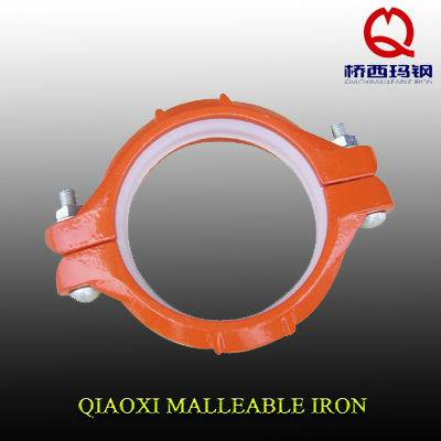 Malleable iron grooved fittings